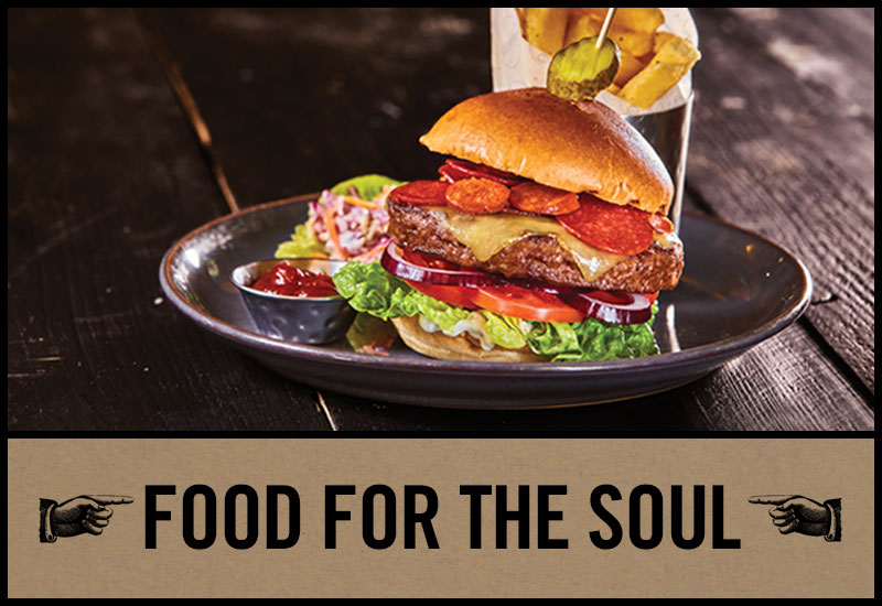 Food for the soul at The Mason's Arms