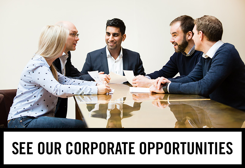 Corporate opportunities at The Mason's Arms