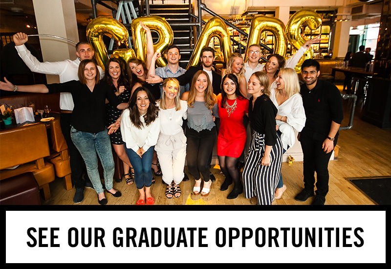 Graduate opportunities at The Mason's Arms